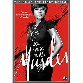 HOW TO GET AWAY WITH MURDER-COMPLETE 1ST SEASON (DVD/4 DISC/WS)