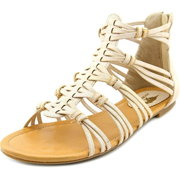 Rocket Dog Hayden Women Open Toe Synthetic Nude Gladiator Sandal