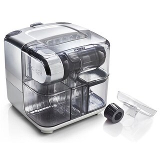 Omega Juicers CUBE300S Juice Cube & Nutrition System, Silver & Black