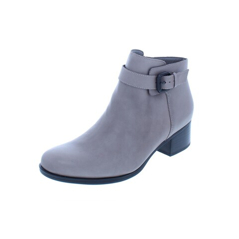 Naturalizer Womens Dora Ankle Boots Leather Booties