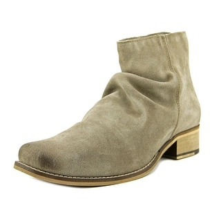 Seychelles FONDNESS Women  Square Toe Suede Gray Western Boot