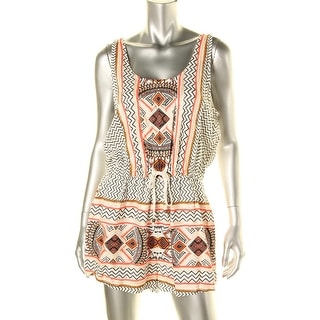 Minkpink Womens Printed Sleeveless Romper