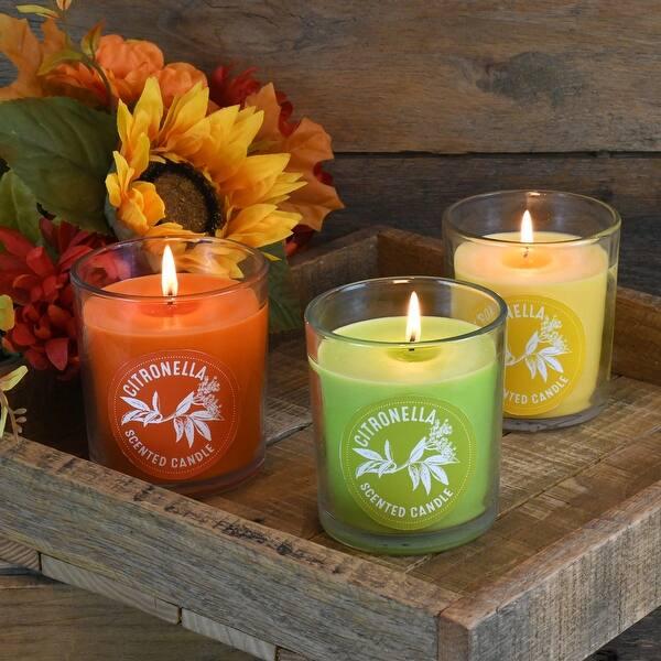 Citronella-Orange candles