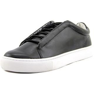 Steve Madden Elian Round Toe Leather Sneakers