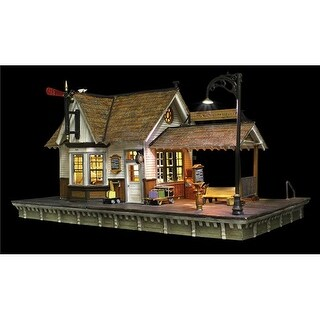 Woodland Scenics WOO5852 The Depot - O Scale