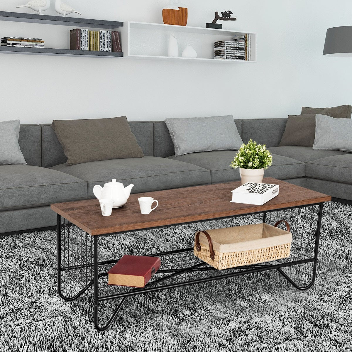 Accent Tail Sofa Side Table