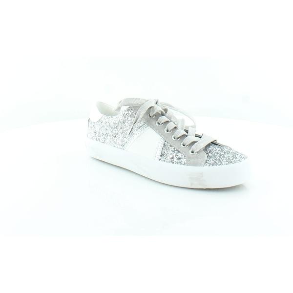 8edc848ef16953 Shop Sam Edelman Baylee Women s Fashion Sneakers Silvr Glit - Free ...