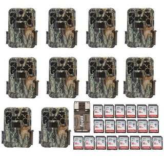 Browning Recon Force Advantage Trail Camera (10) with Reader and 16GB Card (20) - Camouflage