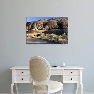 Easy Art Prints William Sutton's 'Painted Hills' Premium Canvas Art
