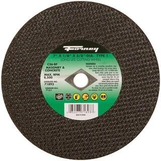 """Forney 71893 Masonry Cutting Wheel, 7"""" x 1/8"""" x 5/8"""""""