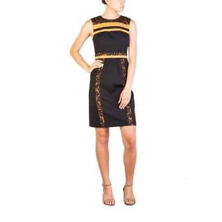 Prada Women's Nylon Cotton Blend Floral Print Dress Black - 4 https://ak1.ostkcdn.com/images/products/is/images/direct/624913c7ed713a667aec7446e431a00be96ee19a/Prada-Women%27s-Nylon-Cotton-Blend-Floral-Print-Dress-Black.jpg?impolicy=medium