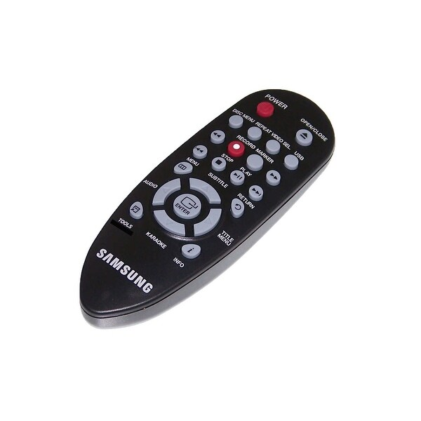 NEW OEM Samsung Remote Control Originally Shipped With: DVDD360K, DVD-D360K