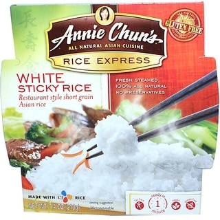 Annie Chun's - Rice Express White Sticky Rice ( 6 - 7.4 oz bags)