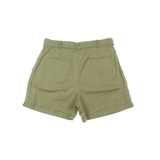 Polo Ralph Lauren Womens Khaki Shorts Twill High Rise (2 options available)