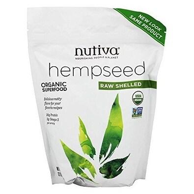 Nutiva Hempseed - Organic - Shelled - 12 oz - 3 Pack