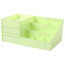 Drawer Type Organizer Comestics Sotrage Box 3127 L green