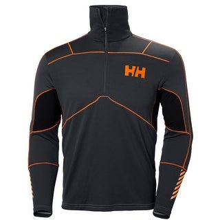 Helly Hansen Mens Lifa Merino Hybrid Top Baselayer Black