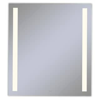 """Robern YM3040RCFPD3  Vitality 30"""" W x 40"""" H Rectangular Mirror with Built-In LED Lights and Defogger"""