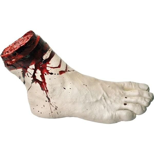 Cut Off Foot Halloween Decoration Prop