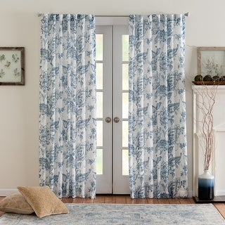 Link to Miller Curtains Eastman Printed Rod Pocket Panel Similar Items in Window Treatments