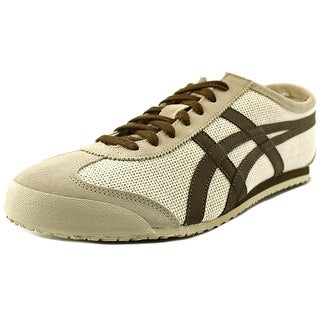 Onitsuka Tiger by Asics Mexico 66 Men Round Toe Leather Nude Sneakers