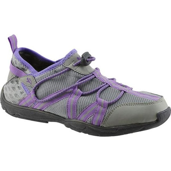 5202640b2b27 Shop Cudas Women s Tsunami 2 Water Shoe Grey Mesh - On Sale - Free ...