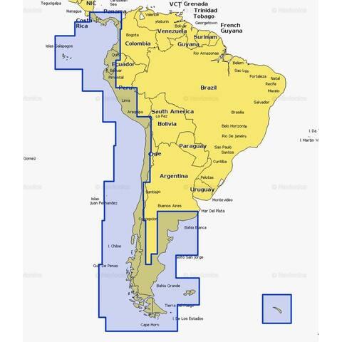 Navionics msd/911p-2 platinum mexico/central america