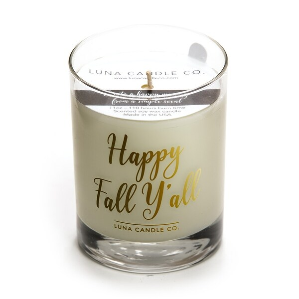 Mulled Apple Cider Premium Candle, Natural Soy Wax Long Burn