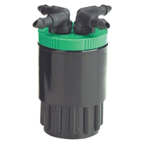 Raindrip QB20UB 20 Gp 4-Outlet Bubbler Green for Drip Irrigation
