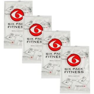 6 Pack Fitness GelPak 500 (Set of 4) - Clear