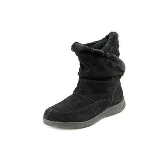 White Mountain Traffic Round Toe Suede Winter Boot