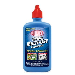 DuPont DM1204101 Multi-Use Lubricant Squeeze Bottle, 4 Oz
