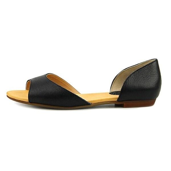 Latigo Womens Mollie Leather Closed Toe Casual Slide Sandals - 8