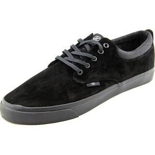 Radii The Jax Women Round Toe Suede Black Sneakers