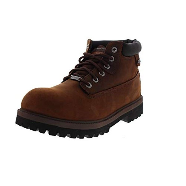 1ebd76ddddc46 Shop Skechers Men's Verdict Men's Boot,Dark Brown,10.5 Ew Us - Free  Shipping Today - Overstock - 25630668