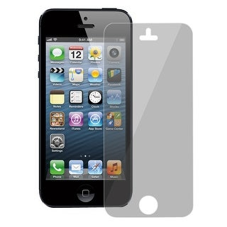 Clear Gray Privacy Screen Protectors Shield Guard Film for iPhone 5 5G