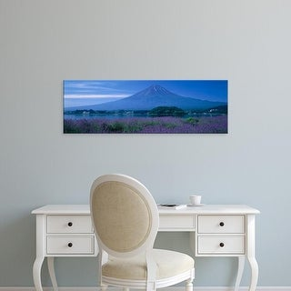 Easy Art Prints Panoramic Images's 'Mount Fuji Japan' Premium Canvas Art