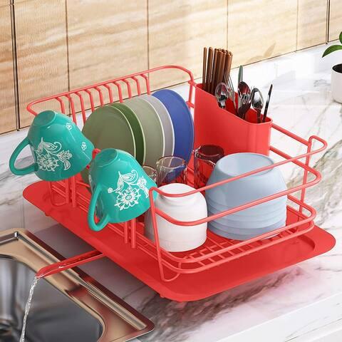 Sink Dish Rack Dish Drainer Dish Drying Rack Countertop
