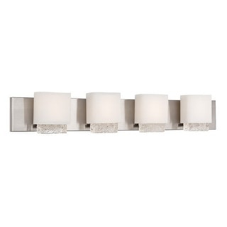 "Modern Forms WS-6045 Fusion 45"" Width 4 Light LED Vanity Strip"