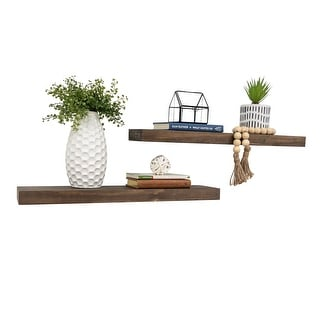 "Link to Del Hutson Designs True Floating Shelves 24"", Set of 2 Similar Items in Accent Pieces"
