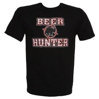 Beer Hunter Humour T Shirt