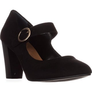 SC35 Alabina Mary Jane Dress Pumps, Black