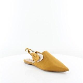 Sam Edelman Rivers Women's FLATS Yellow - 10