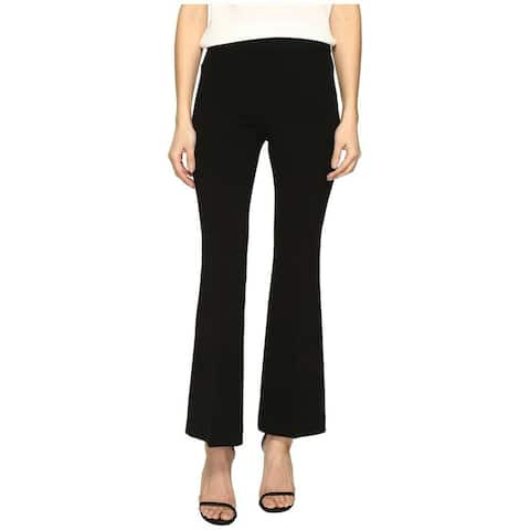 Boutique Moschino Womens Pants Black Size 2 Dress Flare High-Rise