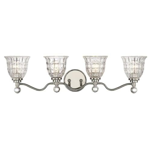 Savoy House 8-880-4 Birone 4 Light Bathroom Vanity Light