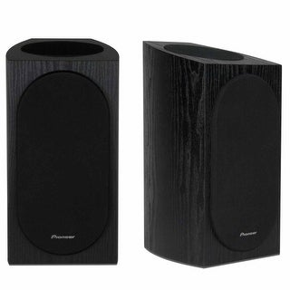 Pioneer SP-BS22A-LR Compact Speakers for Dolby Atmos - Pair (Black)