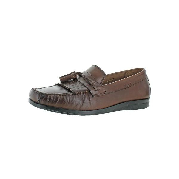 Dockers Mens Freestone Loafers Leather Memory Foam