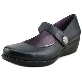 Dansko Adelle Round Toe Leather Mary Janes