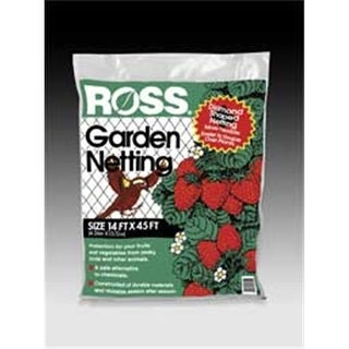 Weatherly Consum Ross Garden Netting Black 14 X 45 Feet - 15720