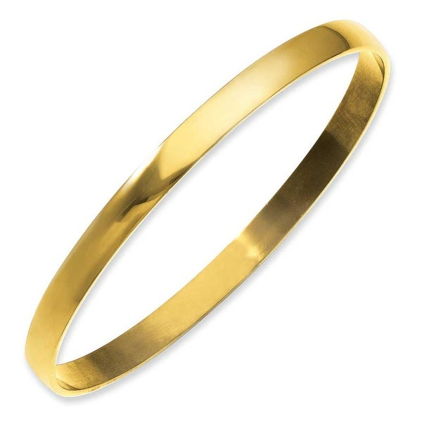 Stainless Steel IP Gold-Plated Bangle